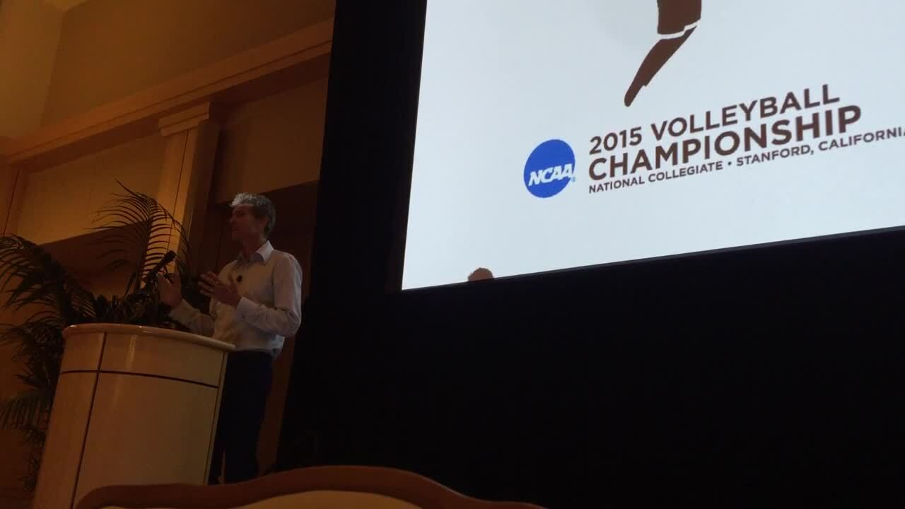 Matt Fuerbringer's NCAA Speech