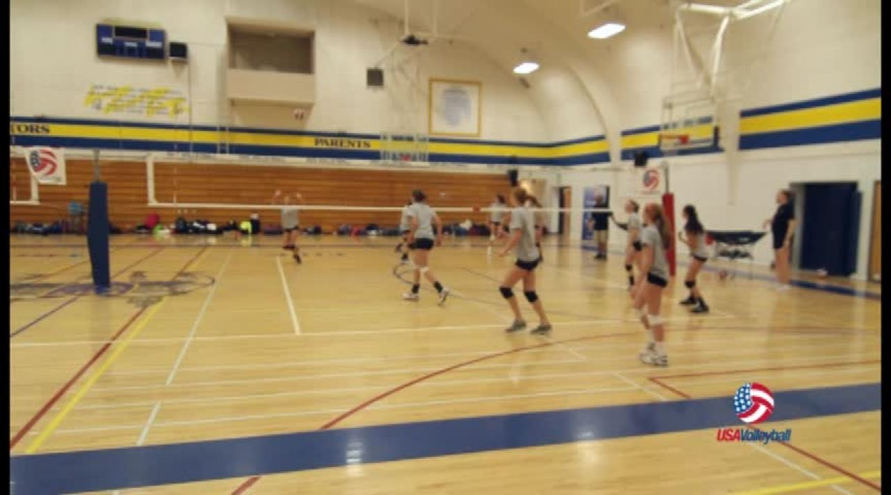 USAV Drill Video Two Balls Revivable