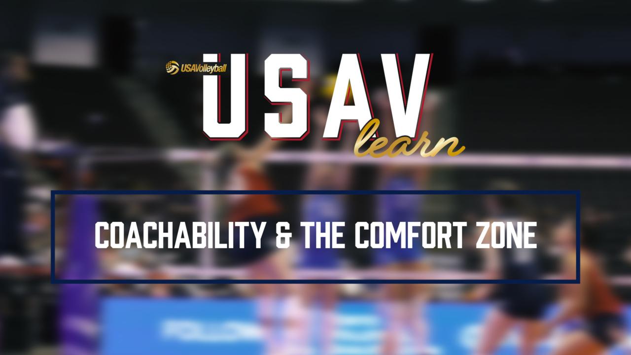 Jordan Larson | Coachability & the Comfort Zone | USAVlearn