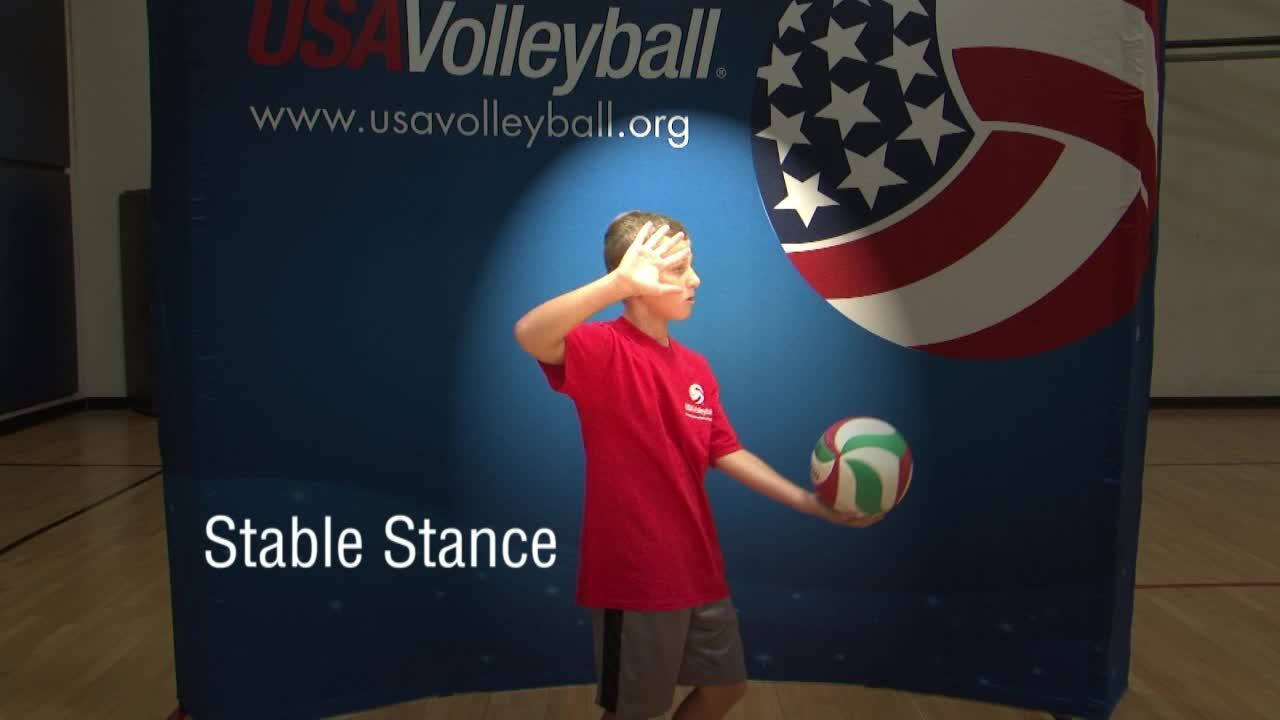 USAV Skill Video Overhand Serving