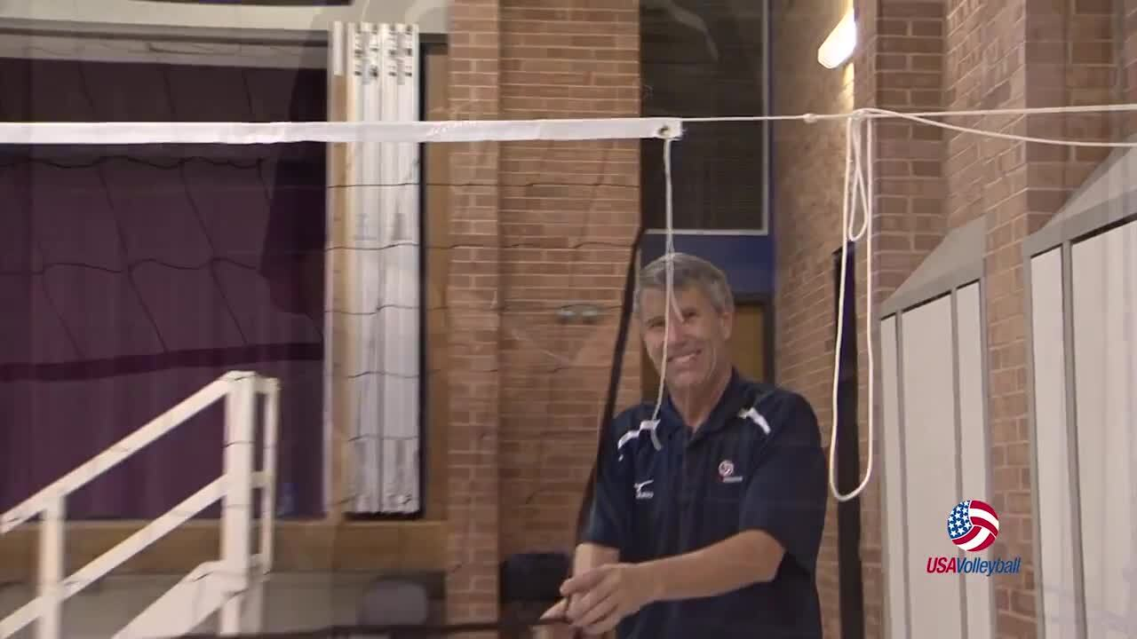 Maximum Contact Net System | USAV SportKit