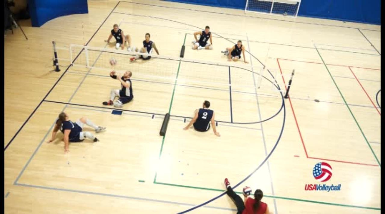 USAV Para Drill Video Narrow Court Doubles