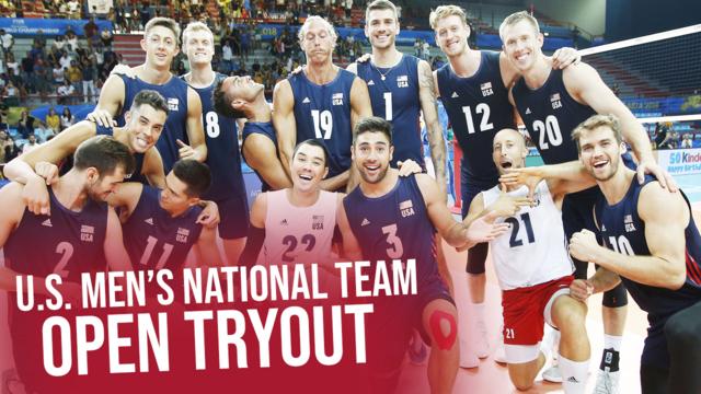 2018 U.S. Men's National Team Open Tryout
