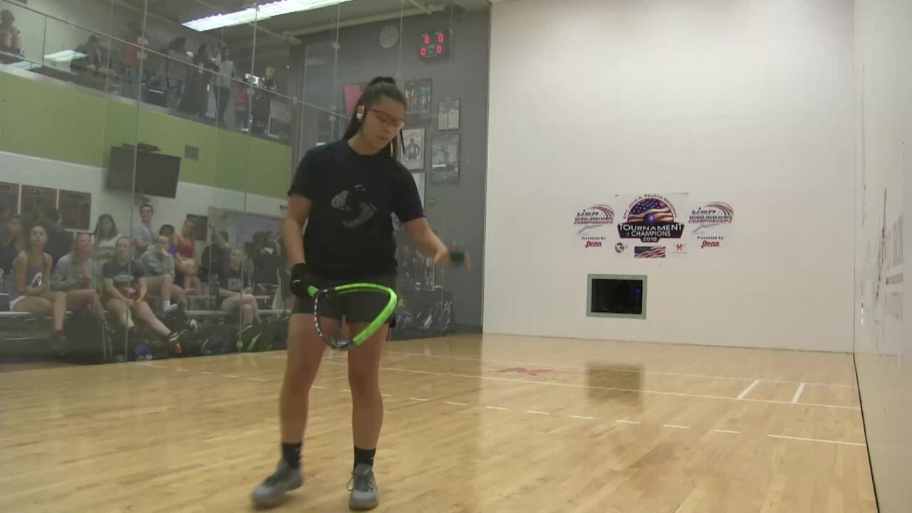 2019 National Junior Olympic Racquetball Championships Girls Singles 16 Under