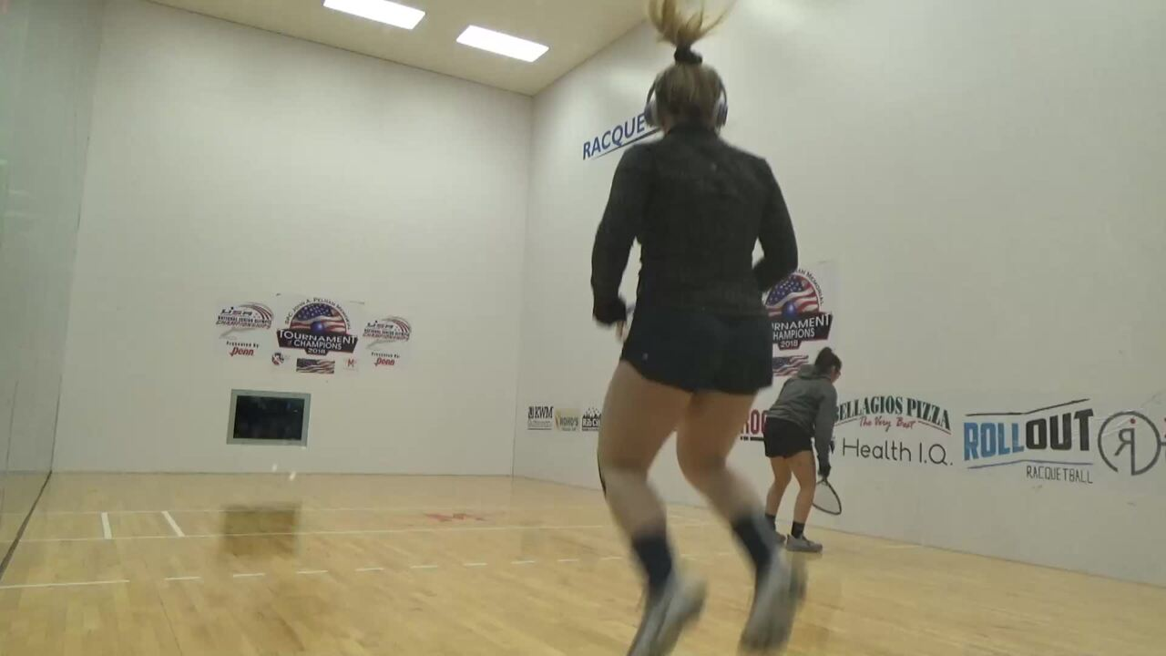 2019 National Junior Olympic Racquetball Championships Girls Doubles 18 Under