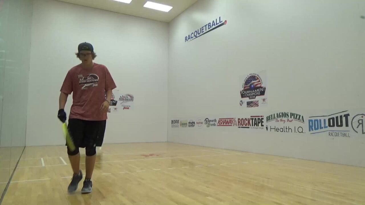 2019 National Junior Olympic Racquetball Championships Boys Singles 16 Under