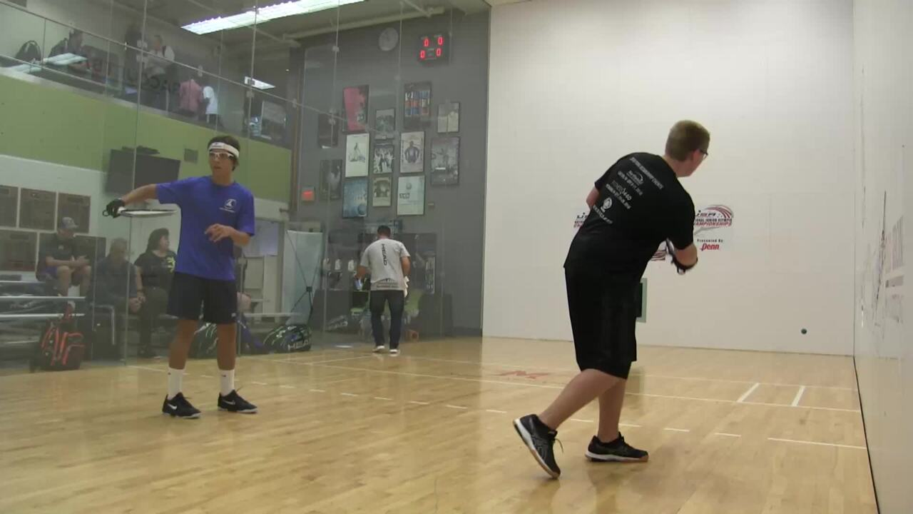 2019 National Junior Olympic Racquetball Championships Boys Singles 18 Under Blue