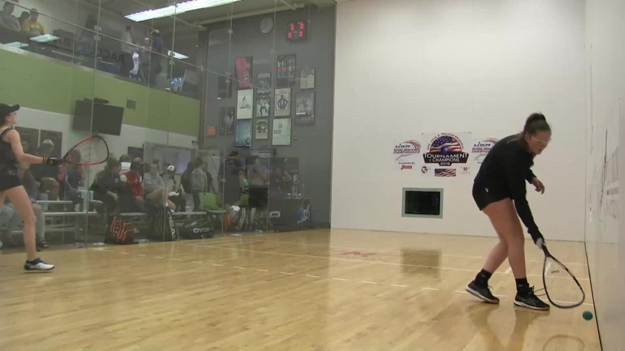 2019 National Junior Olympic Racquetball Championships Girls Doubles 16 Under