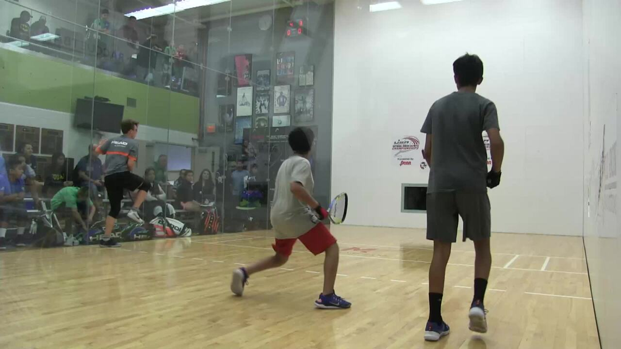 2019 National Junior Olympic Racquetball Championships Boys Doubles 14 Under