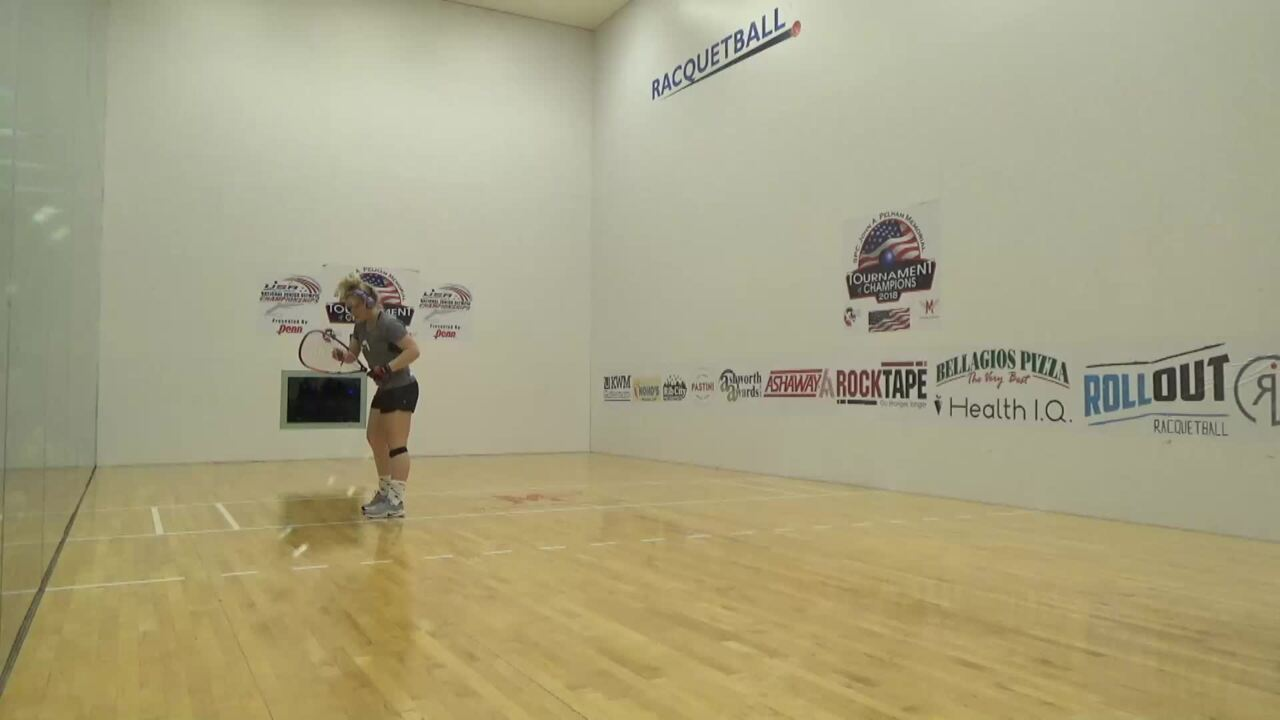 2019 National Junior Olympic Racquetball Championships Girls Singles 18 Under