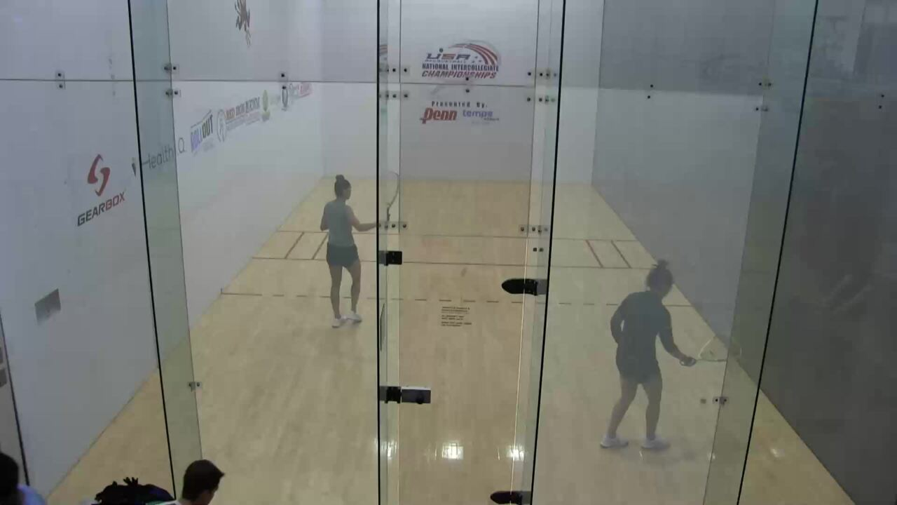 2019 National Intercollegiate Racquetball Championships Womens Doubles #1