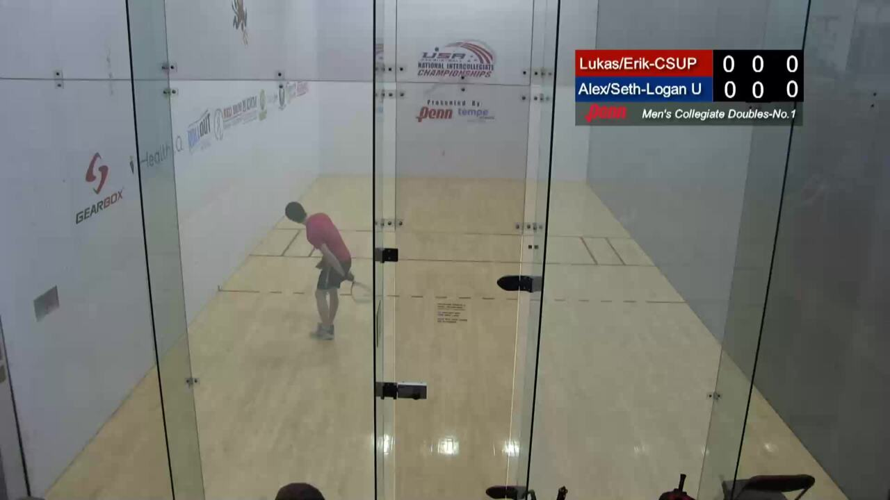 2019 National Intercollegiate Racquetball Championships Mens Doubles #1