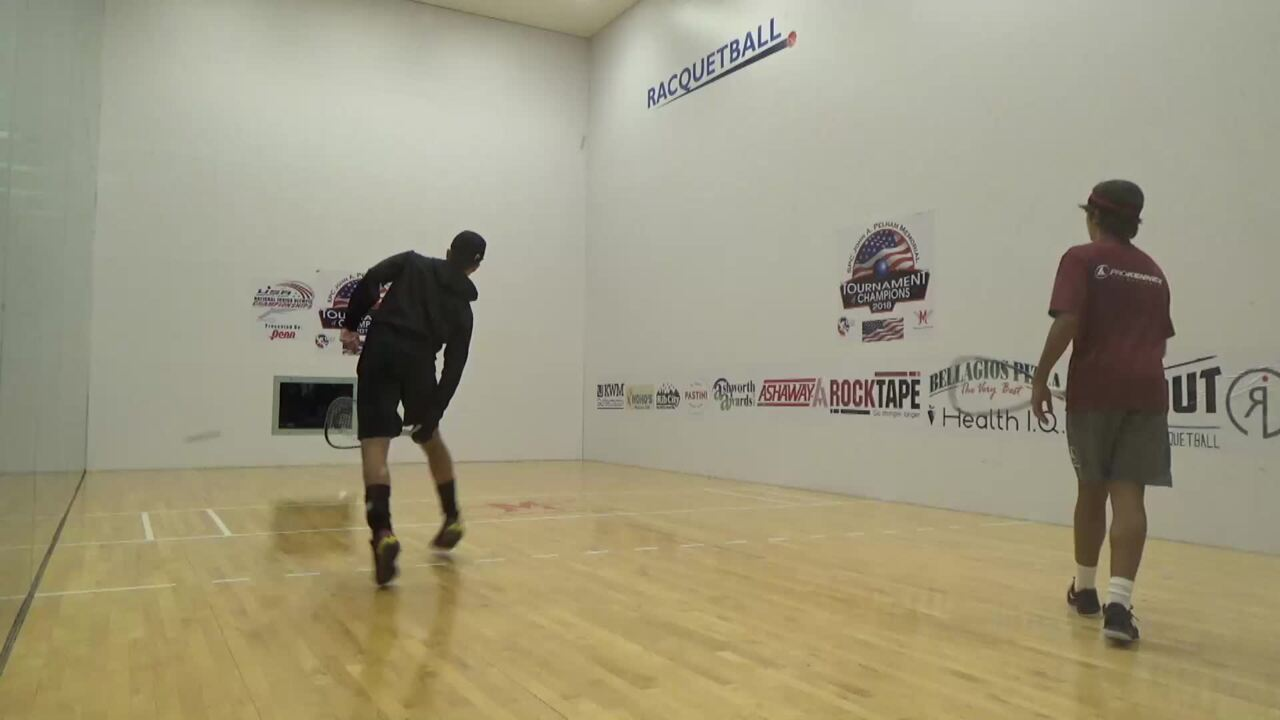 2019 National Junior Olympic Racquetball Championships Boys Doubles 16 Under