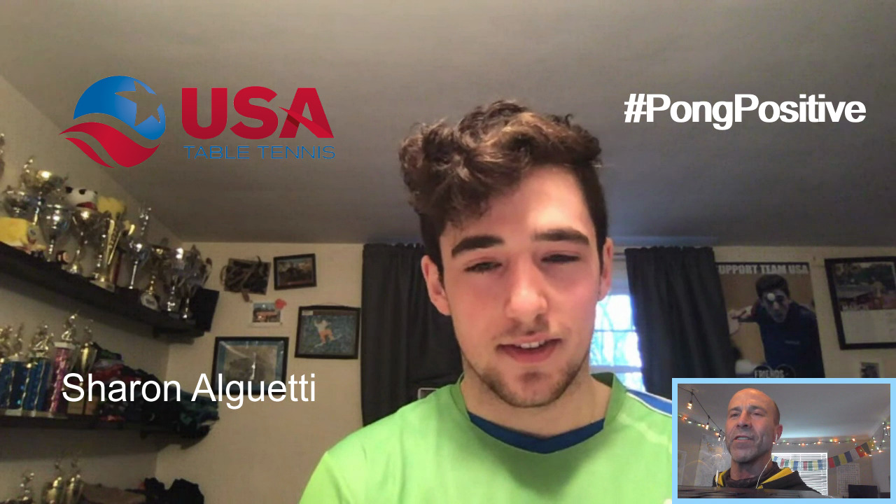 #Pongpositive Interview Series - Sharon Algutti