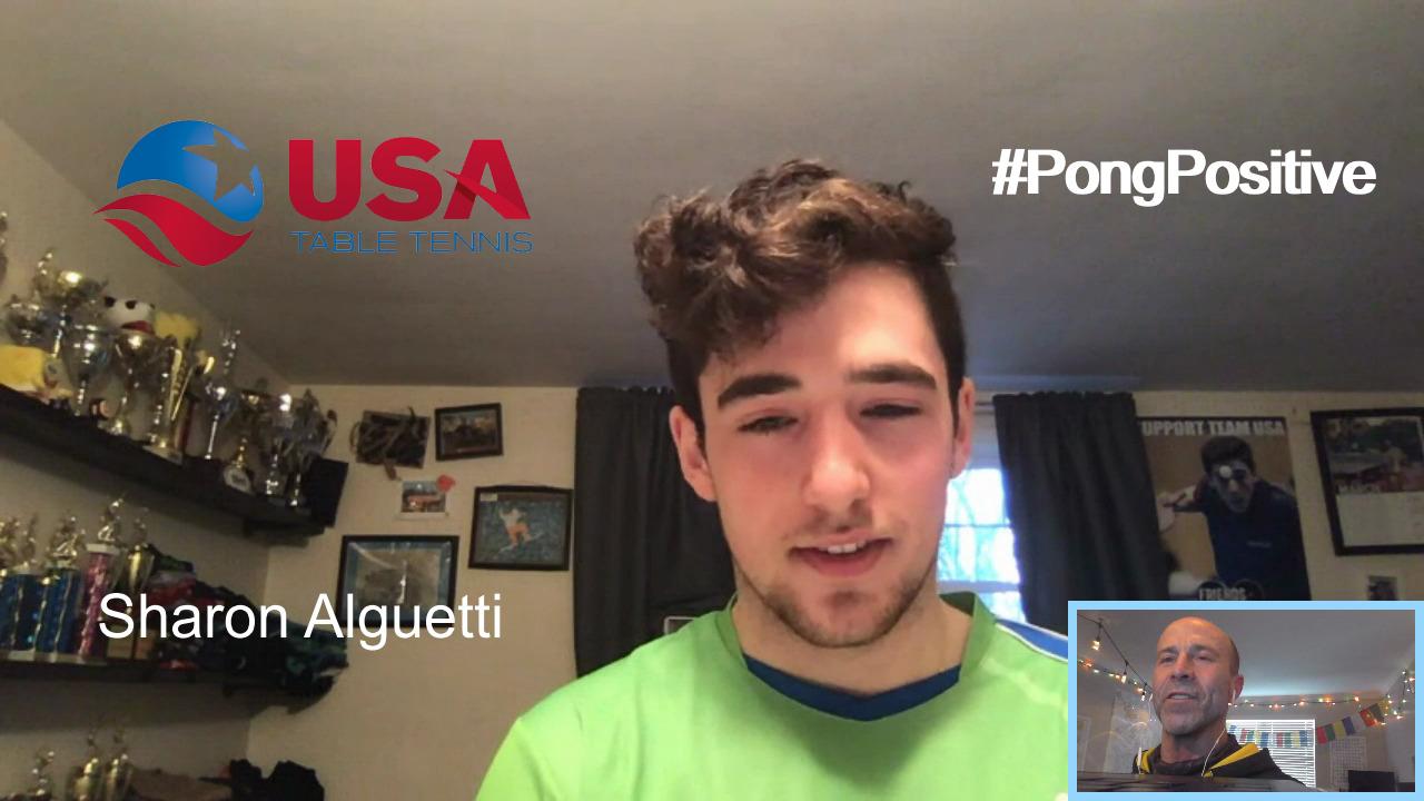 #Pongpositive Interview Series - Sharon Algutti