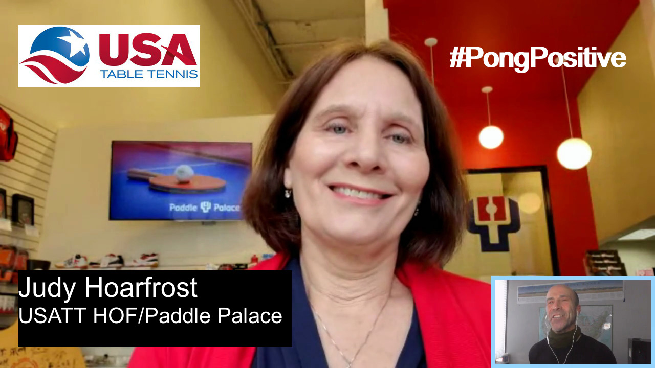 #PongPositive Interview Series - Judy Hoarfrost