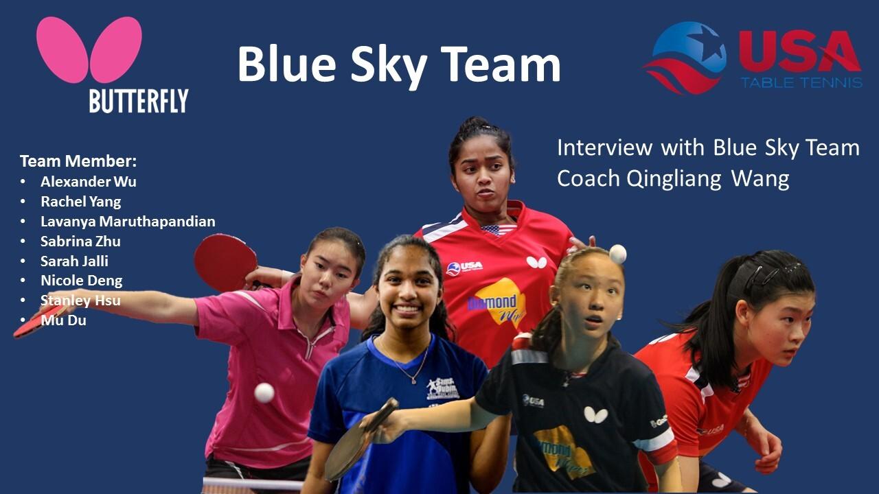 #PongPrudent - Blue Sky Team Coach Qingliang Wang