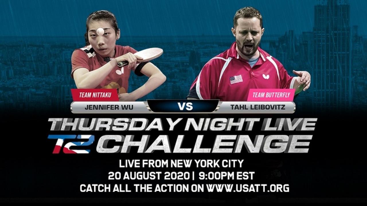 Thursday Night Live - T2 Challenge - Week 4