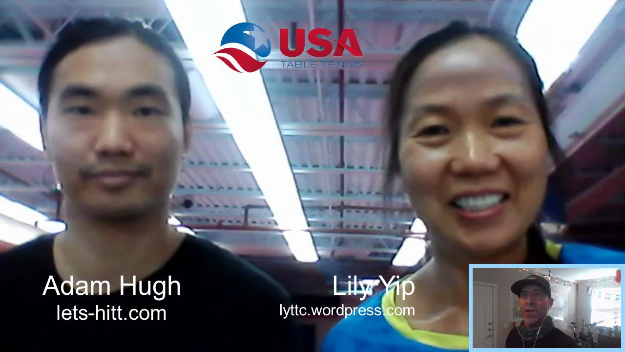 #PongPurdent - Lily Yip and Adam Hugh