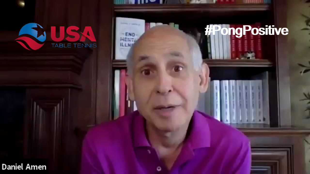 #PongPositive Interview Series - Dr. Daniel Amen