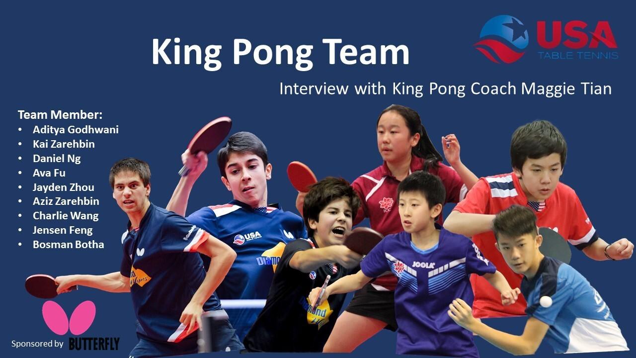 #PongPrudent - Coach Maggie Tian