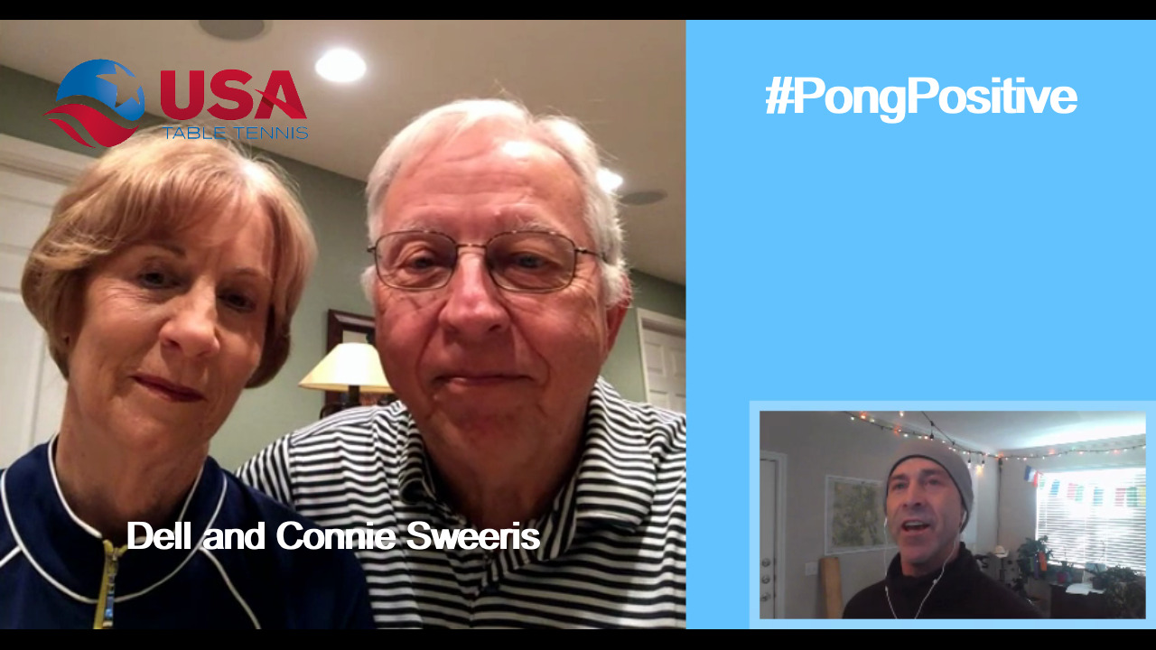 #PongPositive Interview Series - Connie and Dell Sweeris