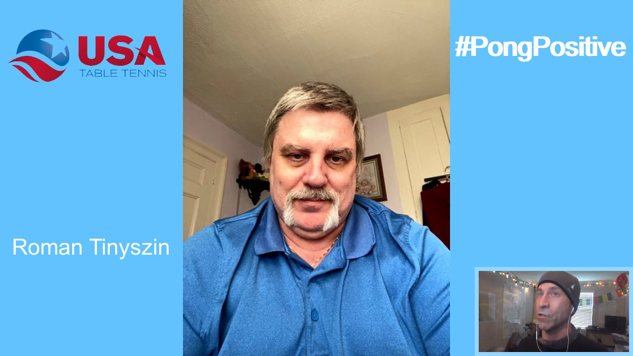 #PongPositive Interview Series - Roman Tinyszin