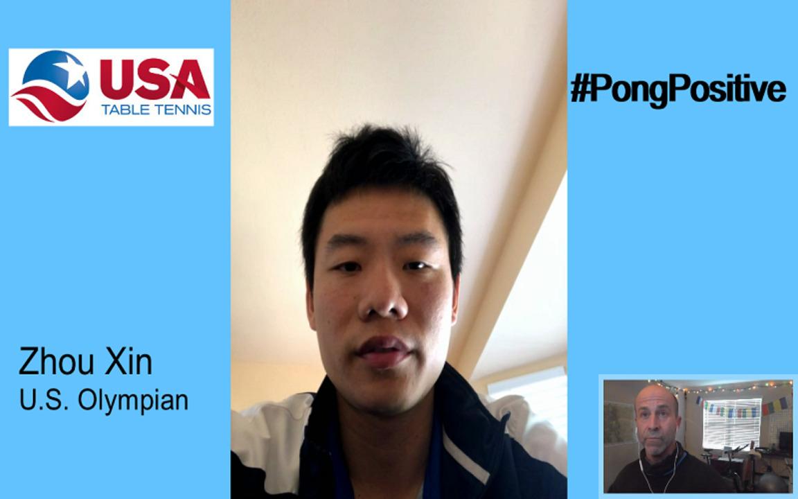 #Pongpositive Interview Series - Zhou Xin