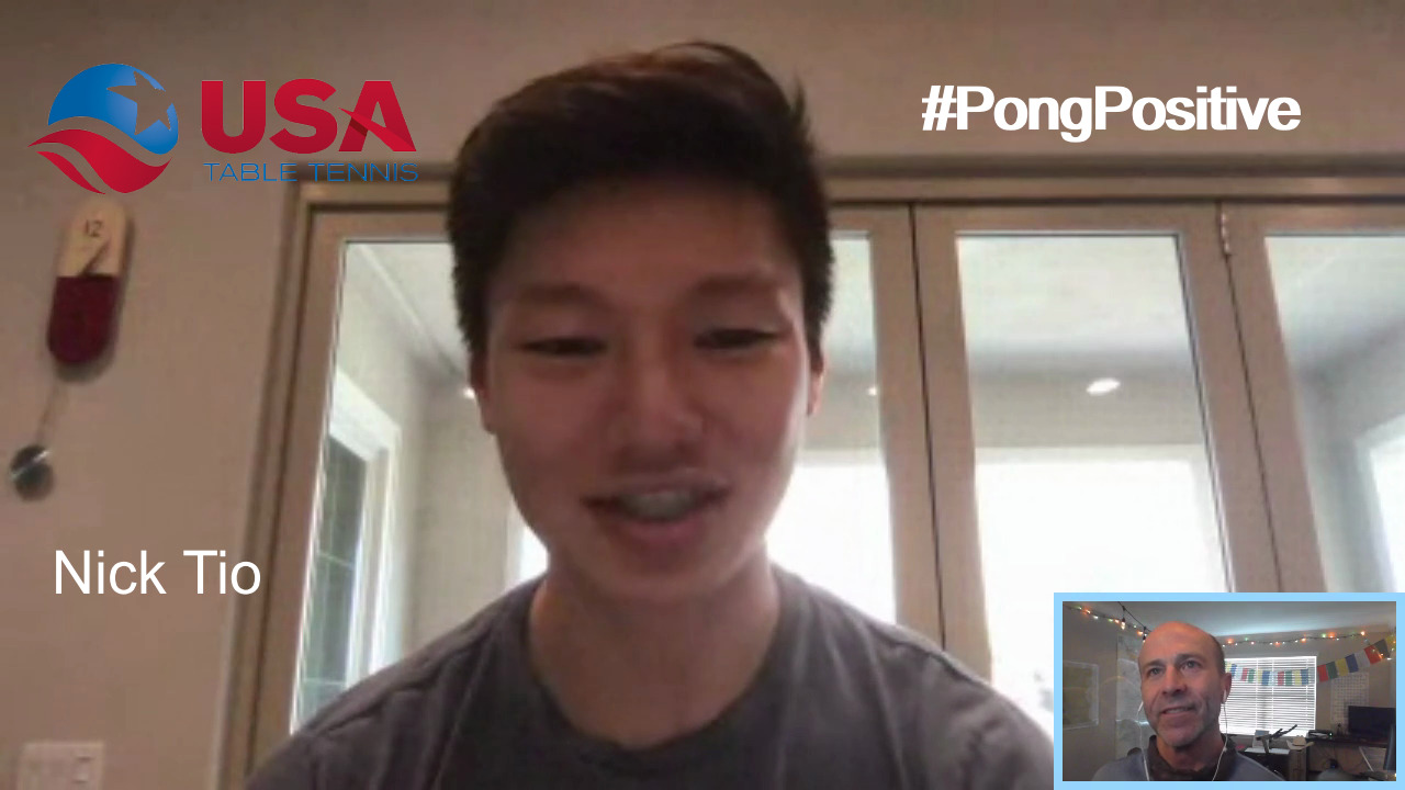 #PongPositive Interview Series - Nick Tio