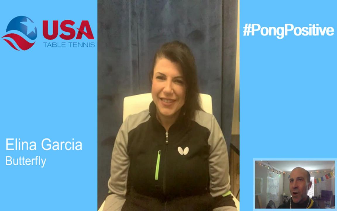 #PongPositive Interview Series - Elina Garcia - Butterfly