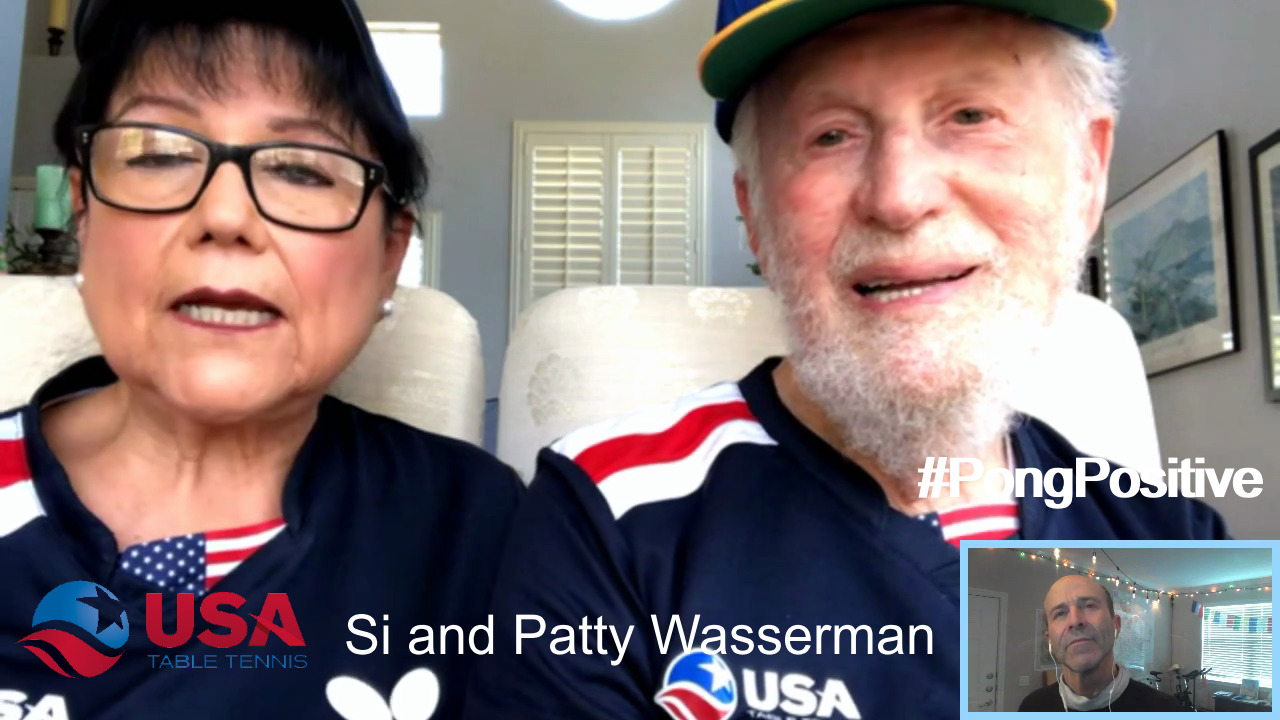 #PongPositive Interview Series - Si and Patty Wasserman