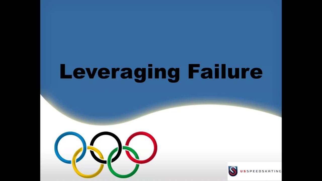 Leveraging Failure