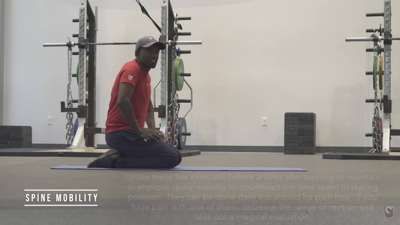 Spine Mobility Warm-Up - USS Sports Med