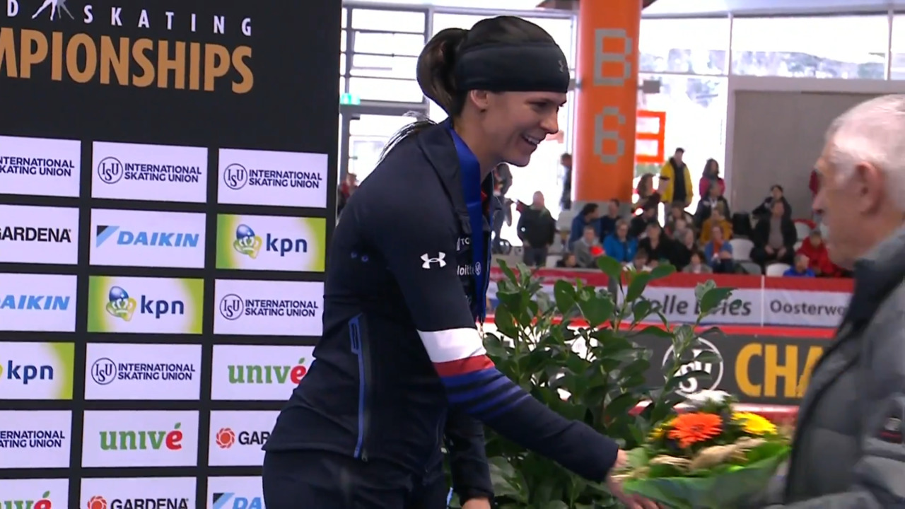 Brittany Bowe's 1500m bronze medal race