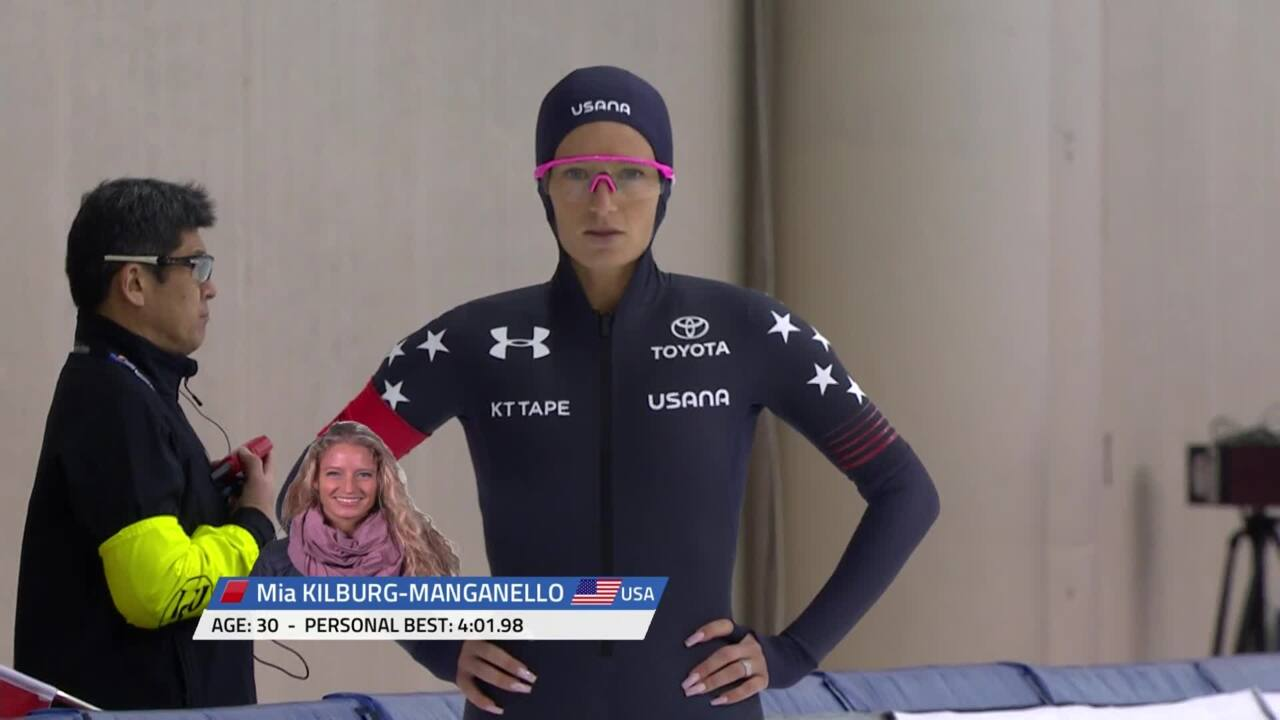 Mia Kilburg - 3000m Gold Medal - 2020 Four Continents