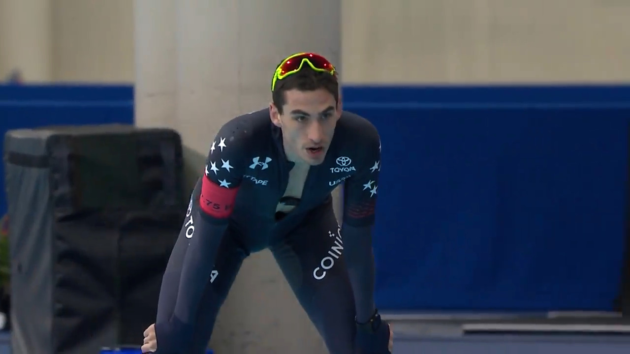 Emery Lehman wins 5000m bronze at the 2020 Four Continents Championship