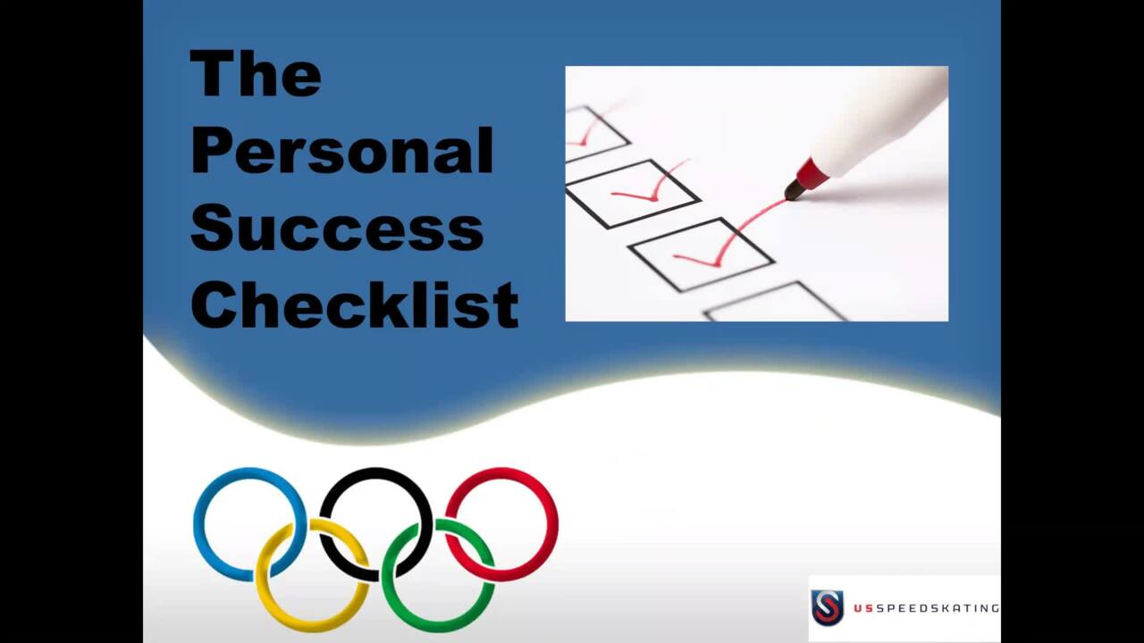 Dr. Galli - Personal Success Checklis
