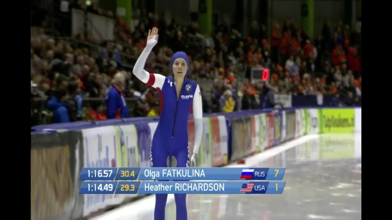 Single Distance Championships-Ladies 1000m-Heather Richardson