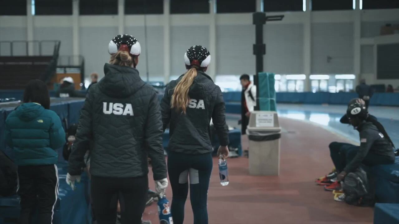 Women of US Speedskating #Fierce #Fast #Fearless