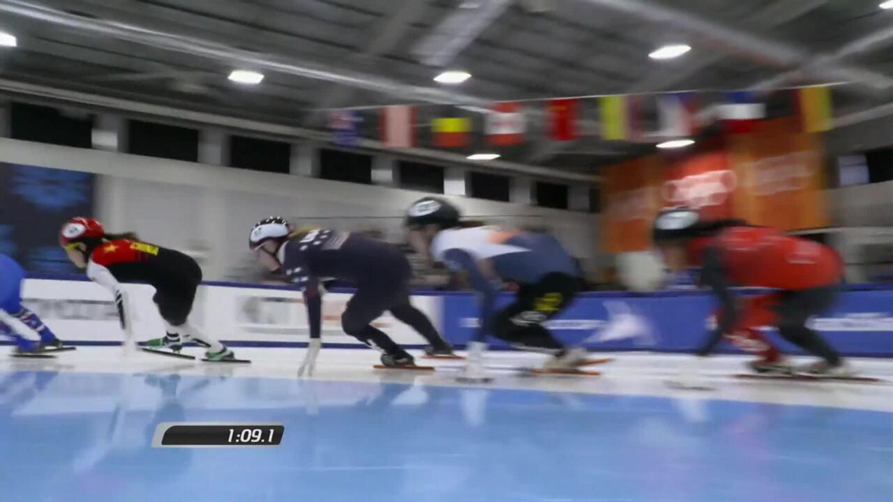 Kristen Santos - STWC1 - 1000m quarterfinals