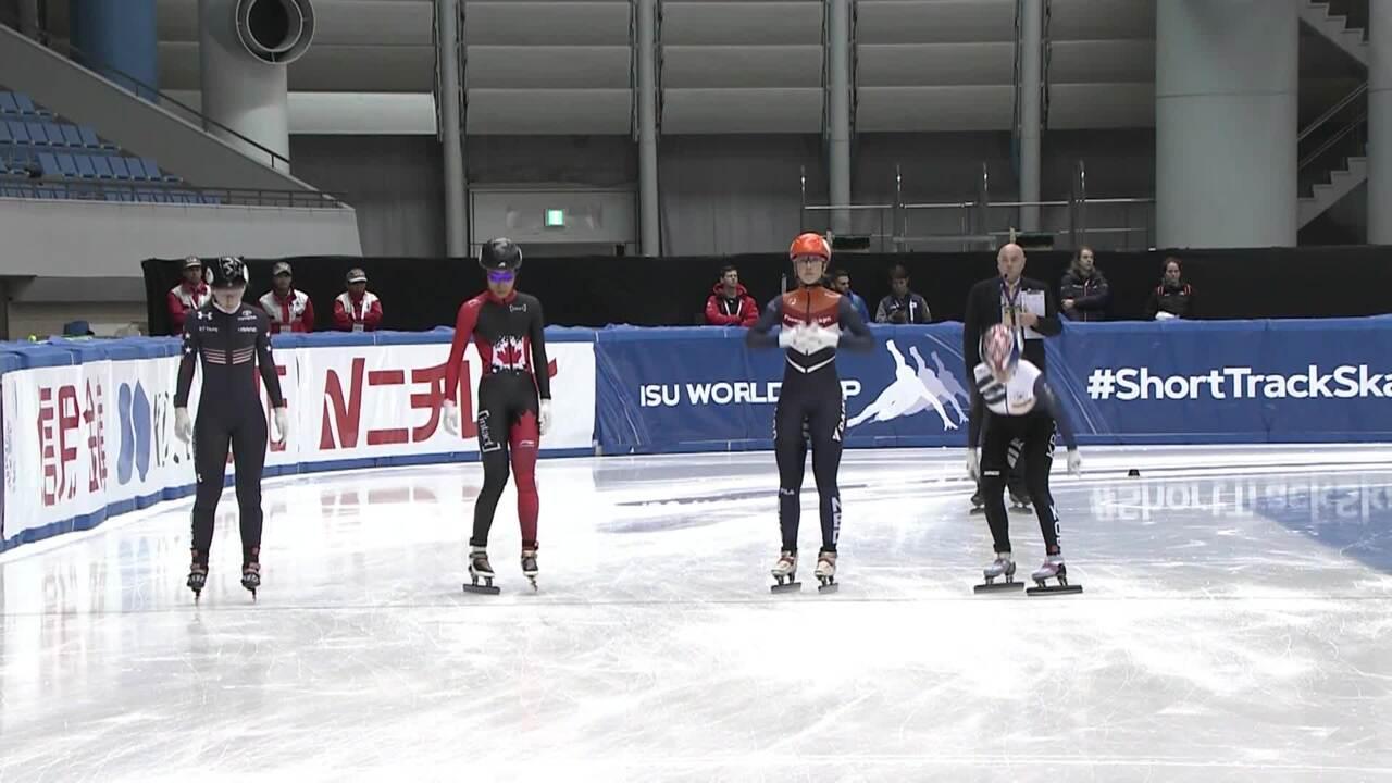 Kristen Santos - 1000m Bronze - STWC3