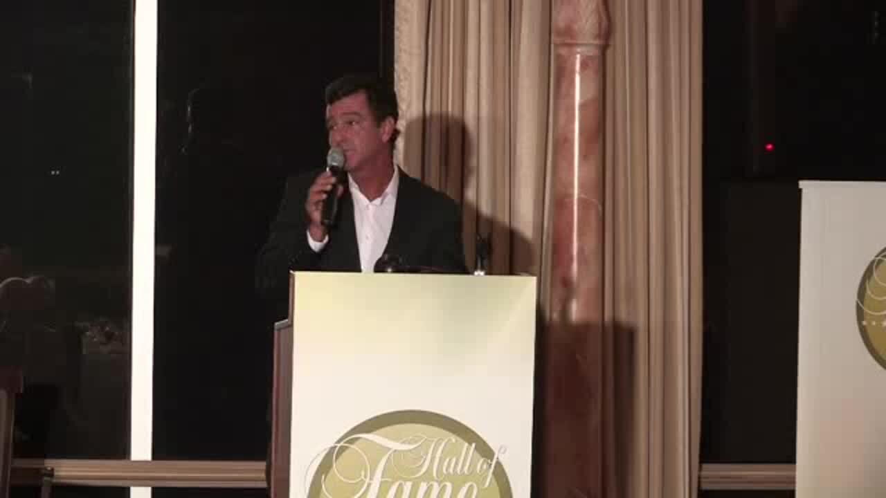 Scott Molina - Hall of Fame Induction Speech Class of 2011