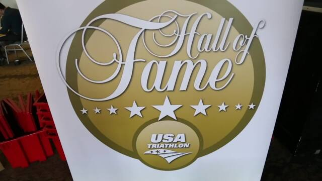 Highlights from the 2018 USA Triathlon Hall of Fame Ceremony