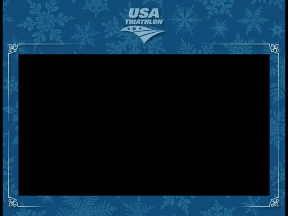 2014 USA Triathlon Holiday Card