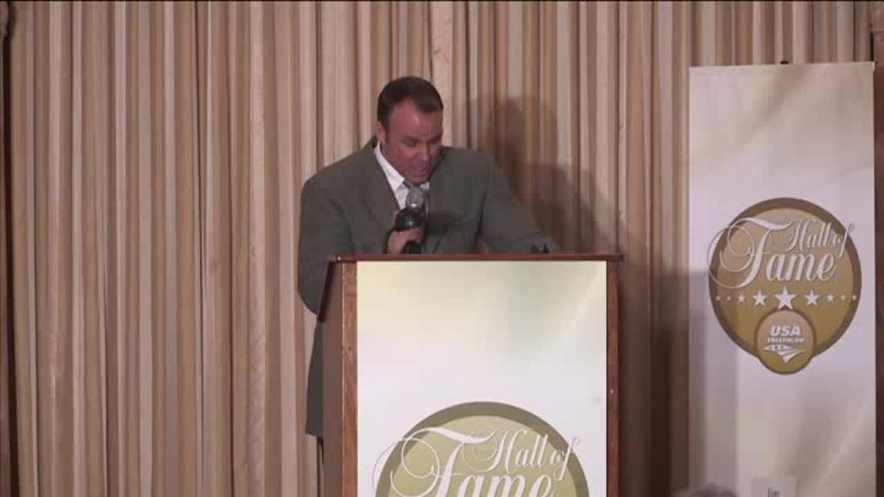 John MacLaren Induction Speech on behalf of brother Jim_USA Triathlon Hall of Fame Class of 2012