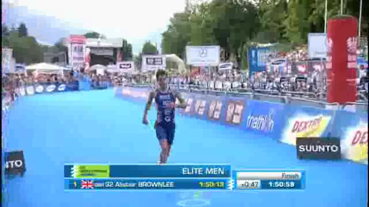 Elite Men Tricast 2012 ITU World Triathlon Kitzbuhel