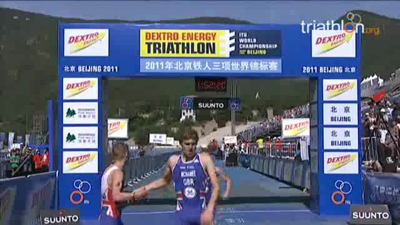 2011 ITU WCS Beijing Under 23 Men Tricast