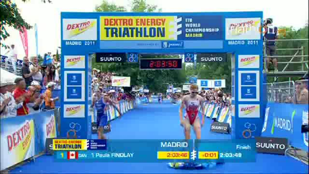 2011 ITU WCS Madrid Elite Women Tricast