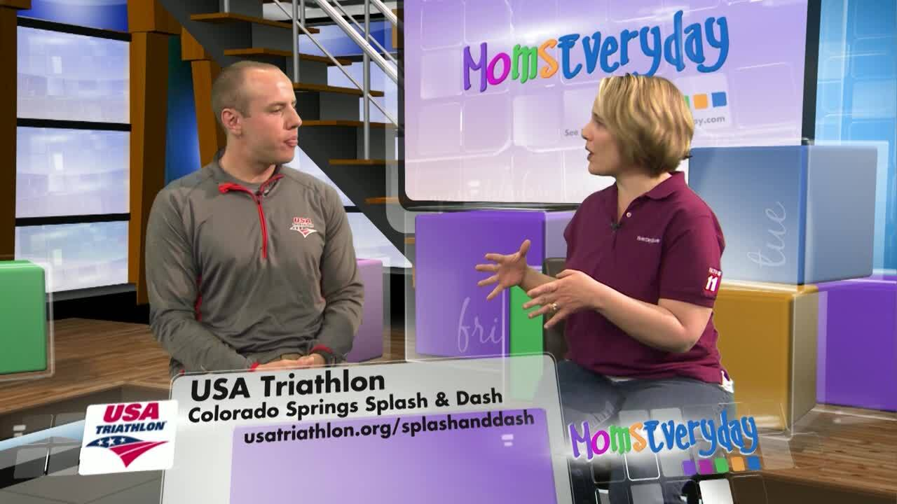 Moms Everyday USA Triathlon Splash and Dash Interview
