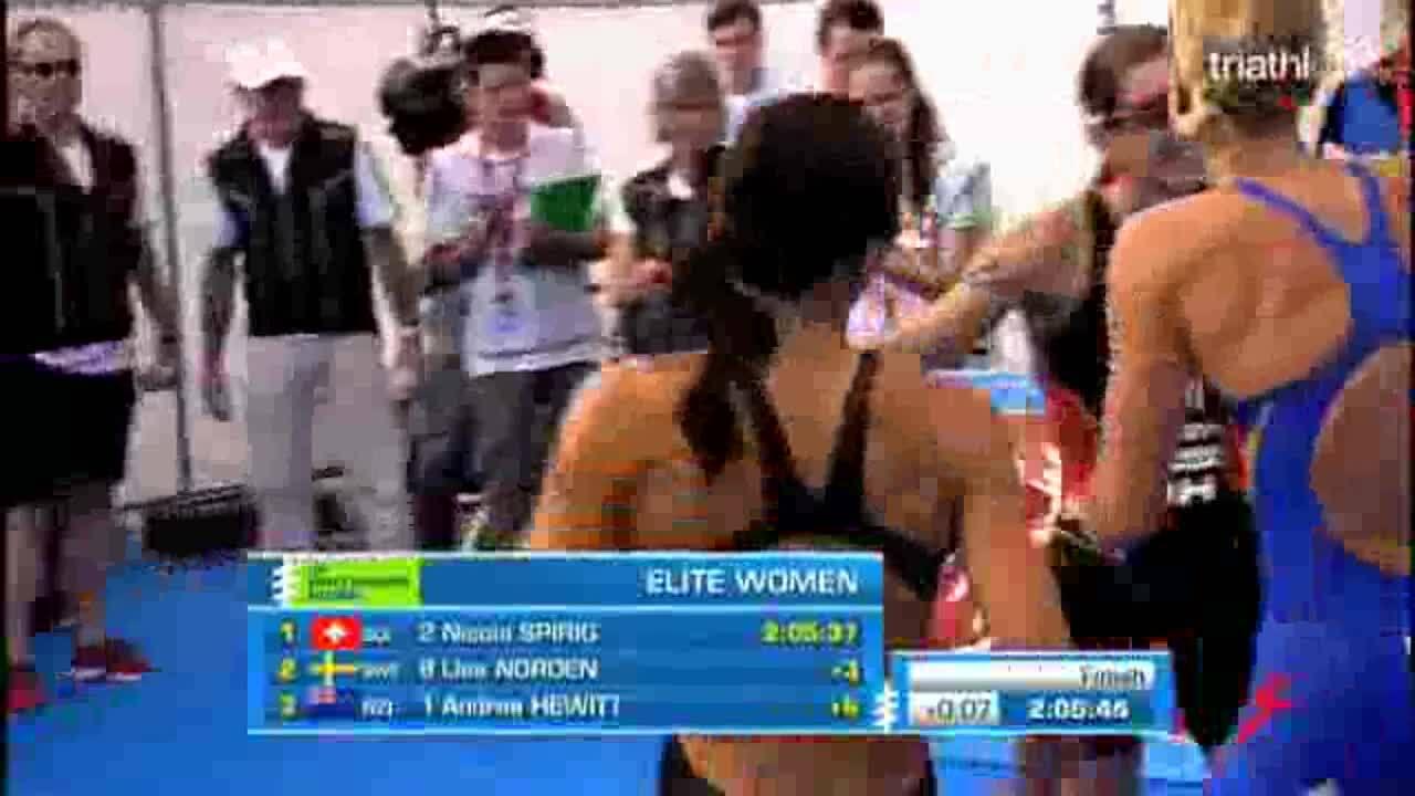 Elite Women Tricast 2012 ITU World Triathlon Kitzbuhel
